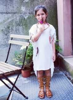 facf683fe Vierra Rose Jeanna Fringe Dress in Cloud Little Girl Outfits, Fringe Dress, Final  Sale. Hello Alyss - Designer Children's Fashion Boutique