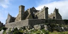 Rock of Cashel. Photo by J. Round Tower, Heritage Center, The Rock, Barcelona Cathedral, Medieval, Castle, Journey, Mansions, Stone