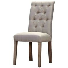 """SIX IN STOCK - Genevieve Champagne Side Chair: 19.5""""w x  25""""d x 40""""h- Rent: $16; Buy: $119"""