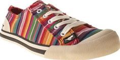 Rocket Dog Multi Jazzin Stripe Womens Flats Bring a little colour into your stride with the Jazzin Stripe plimsoll from Rocket Dog. The rainbow, multi-coloured canvas upper features frayed seams for a laid back look. A flexible rubber sole, bra http://www.comparestoreprices.co.uk/january-2017-8/rocket-dog-multi-jazzin-stripe-womens-flats.asp
