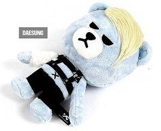 BIGBANG BIG BANG - Official Goods : Krunk X Bigbang Monster Doll + Gift