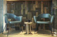Starbucks Amsterdam by Liz Muller   Interior by Reinaldo Handaya, via Behance