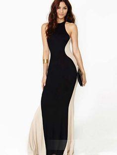Sexy Halter Maxi Dress