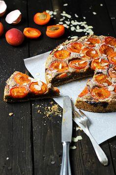 Rezept Aprikosenkuchen mit Mandeln, Aprikosen-Mandel-Tarte, Holunderweg18