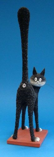 Albert Dubout Katzen Figuren und Geschirr   will somebody pleeeese buy me this?