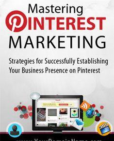 Deze pin zelf is een mooi voorbeeld van pinterst marketing. Doel is verkeer naar de site en contacten verzamelen. Mastering Pinterest Marketing  Free Pinterest E-book (Get loads of followers)  http://pinterestperfection.gr8.com
