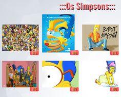 poster de filmes, poster dos simpsons, caderno dos simpsons (4)