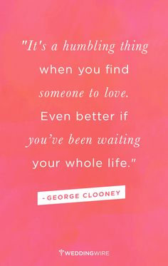Love this #lovequote from George Clooney at the #GoldenGlobes!