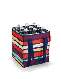 9 Vakken voor flessen 2 Scheurvaste draagbanden met klittenband sluiting De bodemmaat komt overeen met standaard fietsmanden.