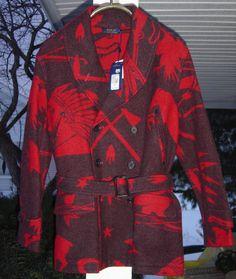 NWT Polo Ralph Lauren Indian Head Jacket L MSRP $698 #PoloRalphLauren #BasicCoat