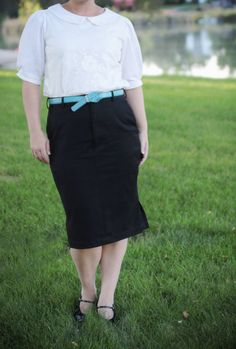 refashion: boring menswear to sophisticated skirt and top - It's Always Autumn