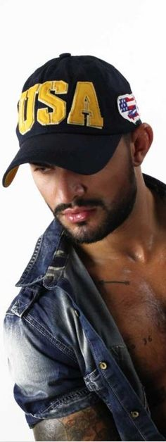 USA Cap Navy Blue by American Legend. Designed in the classic baseball hat  style 244d0671fc88