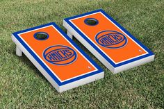 Otterbein Cardinals Basketball Court Cornhole Game Set from Team Sports. Nba New York, New York Knicks, Cornhole Game Sets, Fan Gear, Cardinals, Basketball Court, Tailgating Gear, Games, Holiday Decor
