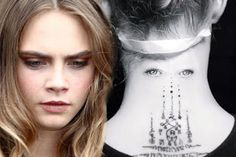 Model Model Cara Delevingne has added a brand new tattoo to her collection.The British model 24 unveiled her latest design on Sunday afternoon after visiting her favourite tattoo parlour Bang Bang NYC. Creepyhas added a brand new tattoo toher collection.The British model 24 unveiled her latest design on Sunday afternoon after visiting her favourite tattoo parlour Bang Bang NYC. But wait o what is actually wrong with this girl. Upon all the tattoos she could do she picked this one. And what's…