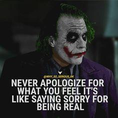 For more Motivational and Realistic Quotes Follow @why_so_serious_rk Follow @why_so_serious_rk Follow @why_so_serious_rk ________________________________________________ ________________________________________________ Turn on POST NOTIFICATION ________________________________________________ ________________________________________________ . . . #Heathledger #joker #jaredleto #margotrobbie #benaffleck #meganfox #emmawatson #dc #thejoker #dccomics #batman #thedarkknight #thedarkknightri
