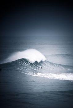 preciousandfregilethings:  here-i-am-sm: It looks smooth but it's not. It's like bouncing down moguls. You hit every ripple in the water. Garrett McNamara