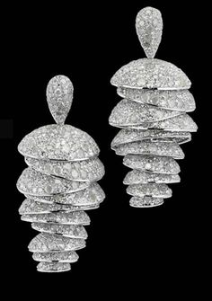 White Gold Diamonds Earrings Set No. 23 #slimmingbodyshapers The key to positive body image go to slimmingbodyshapers.com for plus size shapewear and bras