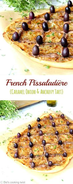 Discover the French pissaladière from Provence! A great appetizer for a summer gathering! | Del's cooking twist