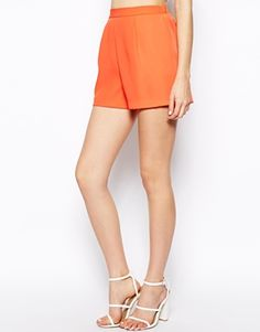 ASOS orange shorts
