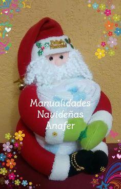Santa, Christmas Ornaments, Holiday Decor, Relleno, Pie, Christmas Decor, Molde, Tela, Holiday Ornaments