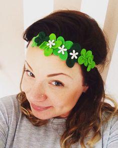 DIY St Patrick's Day Headband