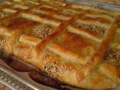 Румынский пирог с мясом - (Russian) - Romanian pie with meat - recipe.