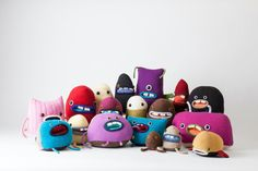 monster group photo Monster Food, Need Friends, Cute Monsters, Group Photos, Plushies, My Friend, Upcycle, Kids, Handmade