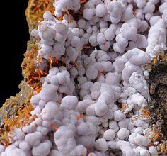 Gibbsite et Crocoite Red River Pocket, Adelaide Mine, Tasmania, Australia Taille=9x5.7x4.7 cm