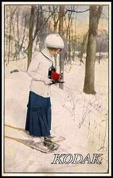 Kodak published pocket catalogs between 1914 and 1926. Women were portrayed as active photographers.