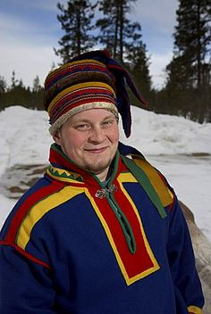 Sami, portrait, Lapland, Scandinavia, Europe