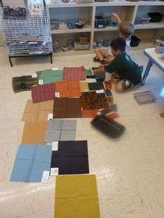 reggio classroom with lots of interesting activities to try