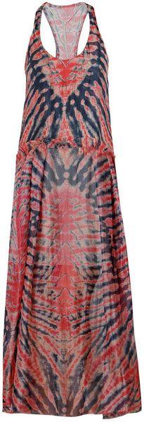 Raquel Allegra                    Silk Tie Dye Dress