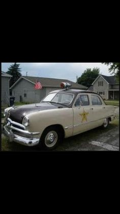 49 Ford Sheriff's Car