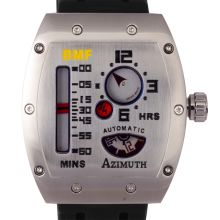 Azimuth - Azimuth Mecha Guage 1 BMF at Chrono Watch Company Big Watches, Cool Watches, Watches For Men, Old Clocks, Watch Companies, Retro Futurism, Beautiful Watches, Vintage Watches, Digital Watch