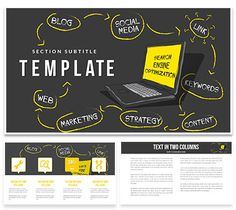 Promotion Sites in Search Engines Keynote templates