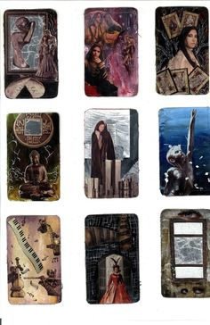 Art Cards grouped together by Fullmoon-rose on DeviantArt