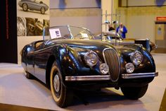 This XK120 drophead coupe appeared to have its original paint and was in lovely, original condition  http://revmatch.me/2016/03/06/nec-restoration-show-gallery-2016/