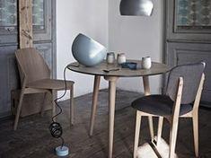 Dansk möbeldesign när den är som bäst. Join me-serien är tillverkad av de finaste materialen som har bearbetats för hand och förvandlats till matbord. Formerna är en hyllning till den vackra och drömlika femtio– och sextiotalsstilen.