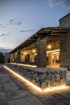 Patio Design, Exterior Design, Hacienda Style Homes, Stone Houses, Backyard Patio, Home Fashion, Future House, Tiny House, Architecture Design