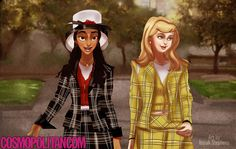 "If Disney Princesses Starred in ""Clueless"""