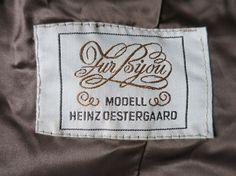 From a 1970s fake fur jacket by German Designer Heinz Oestergaard.  Von einer 70er Jahre Kunstfell-Jacke vom Berliner Designer Heinz Oestergaard (Deutschland)