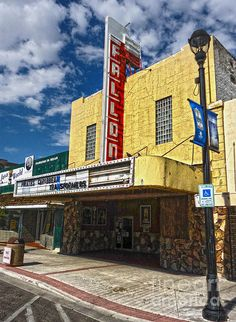 Fallon Nevada Movie Theater Photograph