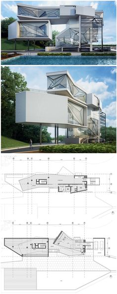 Kaveh ARBAB New LA Amphitheatre Los Angeles CALIFORNIA - Aviators villa urban office architecture