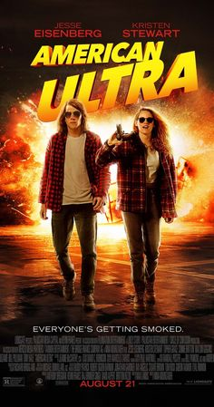 Directed by Nima Nourizadeh.  With Jesse Eisenberg, Kristen Stewart, Connie Britton, John Leguizamo. A stoner - who is in fact a government agent - is marked as a liability and targeted for extermination. But he's too well-trained and too high for them to handle.