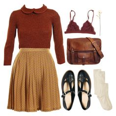 """""""Untitled #87"""" by chickensoup456 ❤ liked on Polyvore featuring Jil Sander, Darling, ASOS and Shabby Chic"""