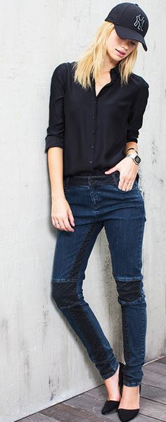 Jeans Skinny, Lookbook, Pants, Fashion, Fashion Ideas, Woman, Accessories, Model, Trouser Pants