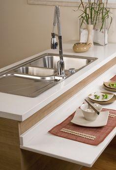 Ideas para tener una barra en la cocina