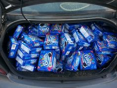Why is my trunk filled with oreos? Sell with amazon's FBA program for some passive income!
