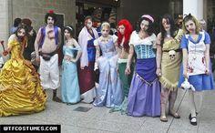 Disney Zombies... Amazing!