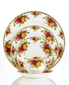 I have admired this China for years!